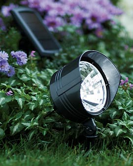 Solar Garden Spot Light Review