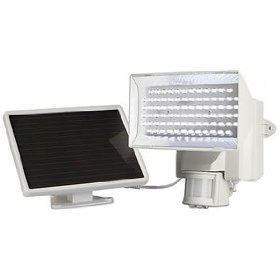 solar power security light